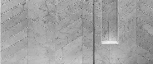 Marmur Carrara – inspiracje łazienkowe